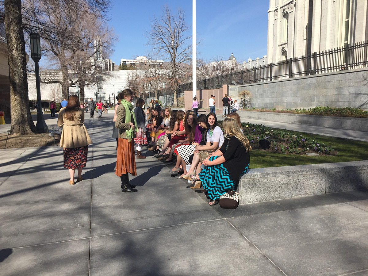 Temple Square Missionary Meetup – March 7, 2015