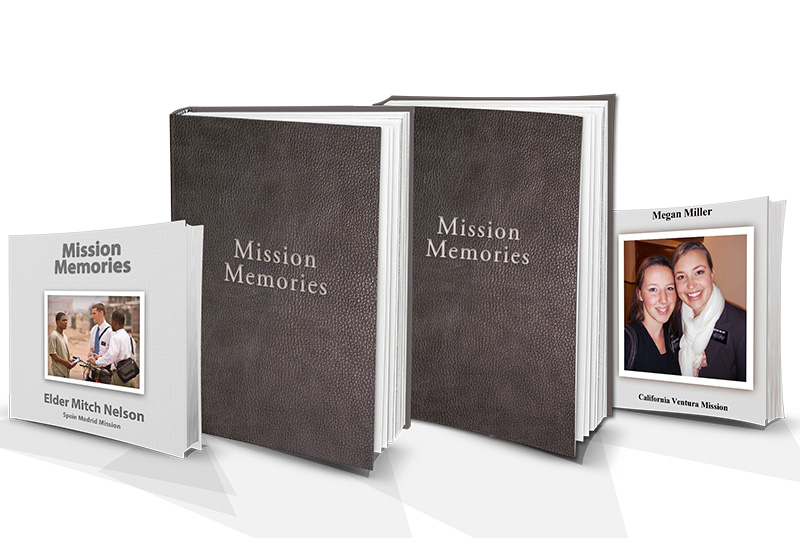 Introducing Perfect Memory Books for your Mission Memories